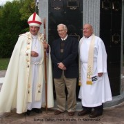 Dedication of the new Columbarium